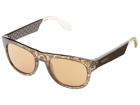 Carrera - Carrera 5006/S (Camouflage Brown/Brown) Fashion Sunglasses