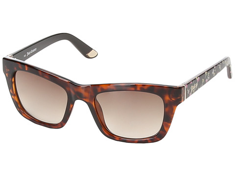 Juicy Couture - Juicy 559/S (Dark Havana/Brown Gradient) Fashion Sunglasses