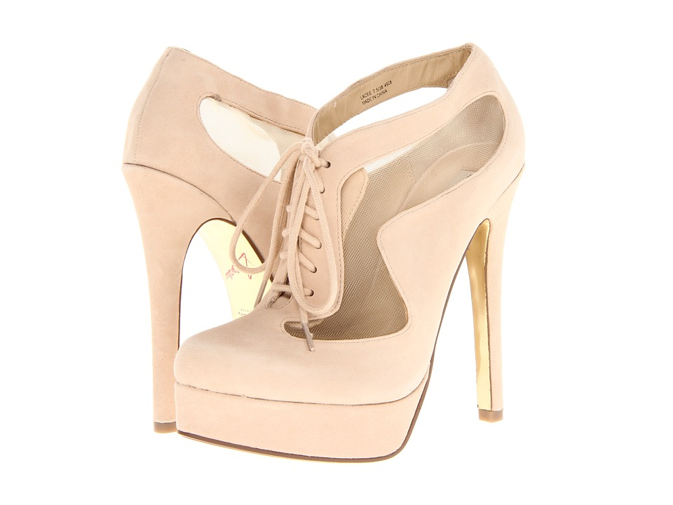 Chinese Laundry - Kristin Cavallari - Lacee (New Nude Kid Suede) High Heels