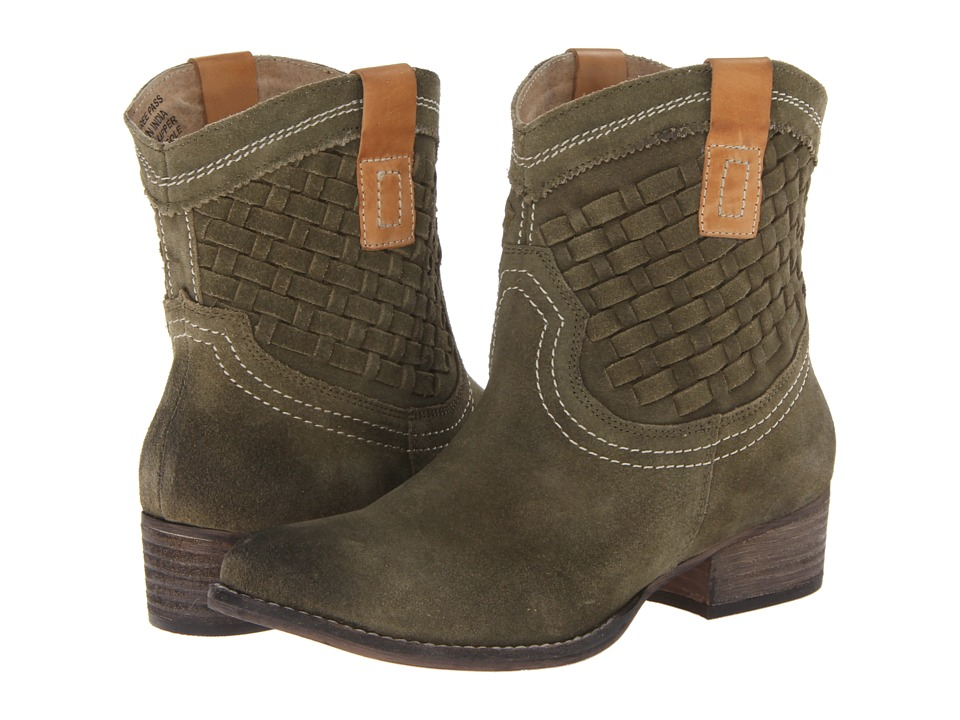 Diba - Free Pass (Green/Tan) Women's Pull-on Boots