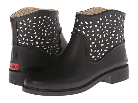 Chooka - Perforated Bootie (Black) Women