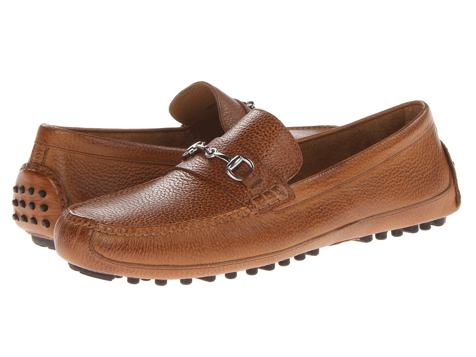 Cole Haan - Grant Canoe Bit (Tan) Men's Slip on Shoes