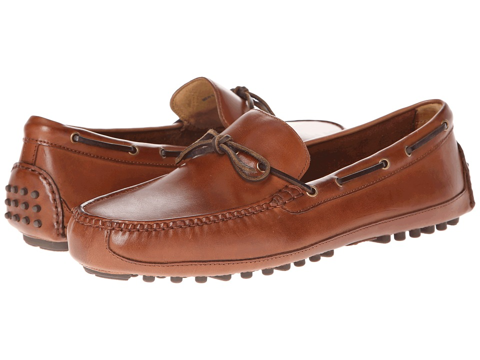 Cole Haan - Grant Canoe Camp Moc (Papaya) Men's Slip on Shoes