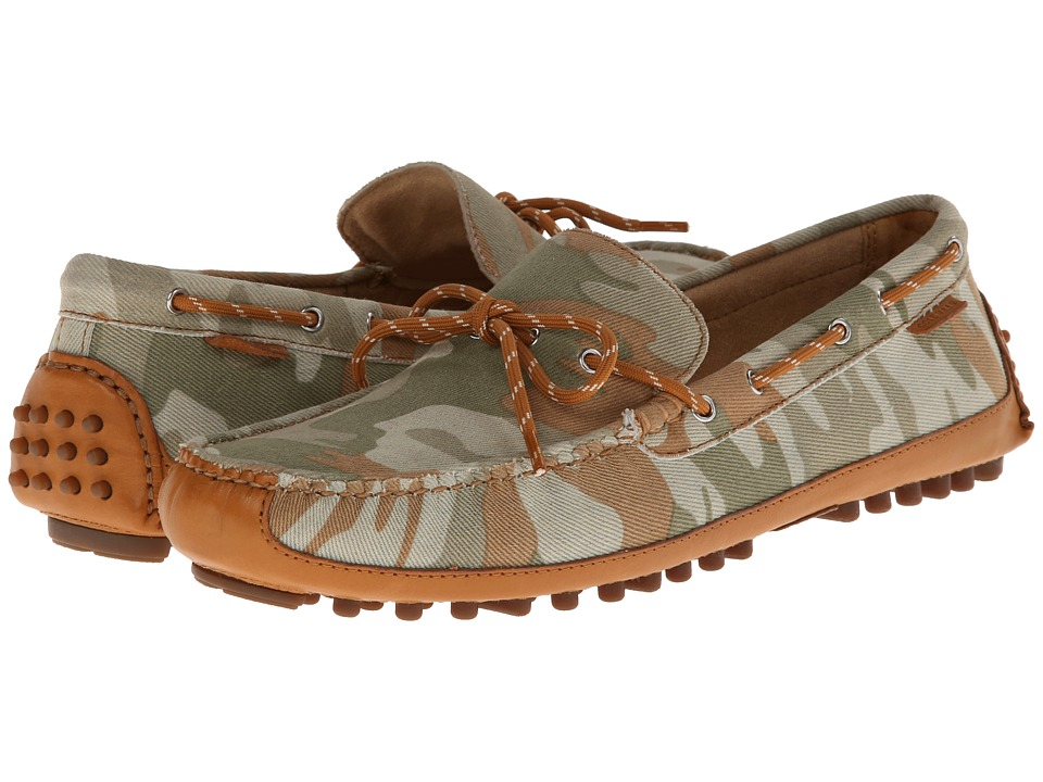 Cole Haan - Grant Canoe Camp Moc (Desert Camo Canvas) Men's Slip on Shoes