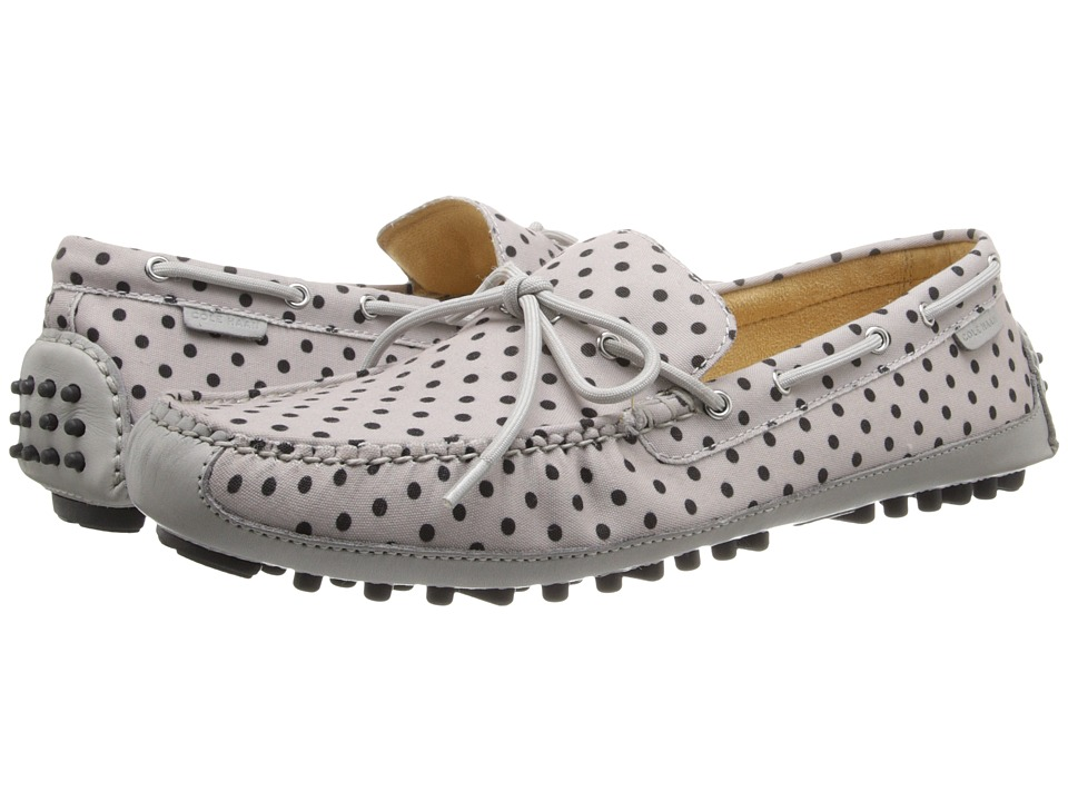Cole Haan - Grant Canoe Camp Moc (Paloma Dot Canvas) Men's Slip on Shoes