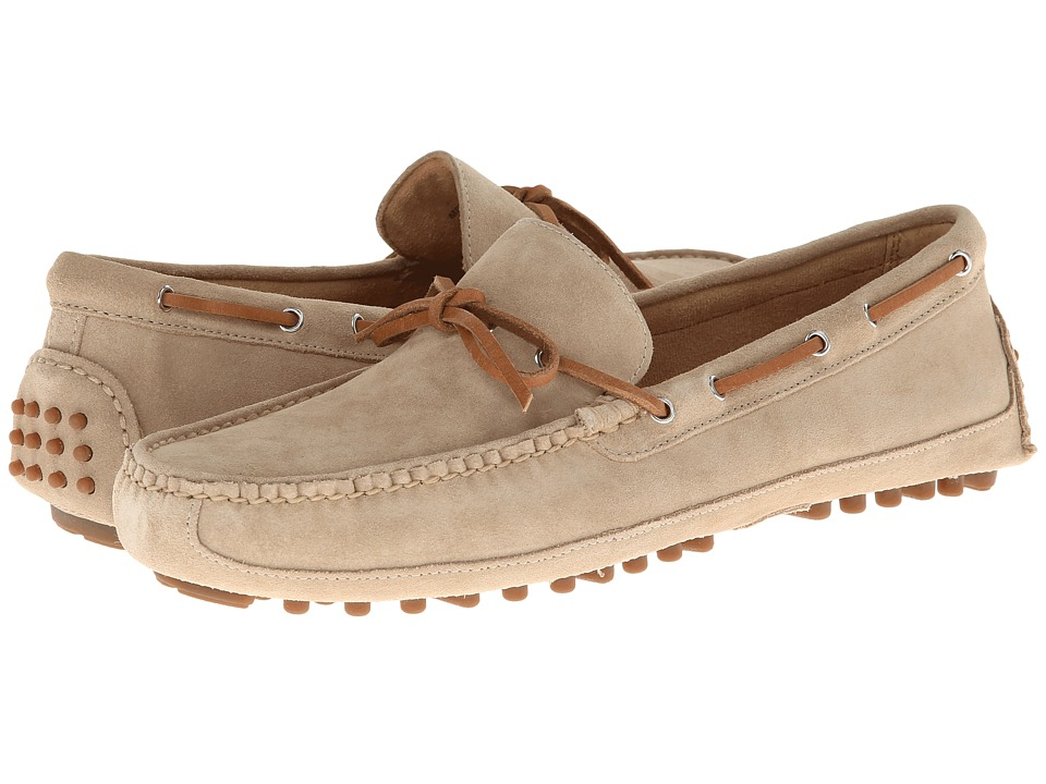 Cole Haan - Grant Canoe Camp Moc (Milkshake Suede) Men's Slip on Shoes