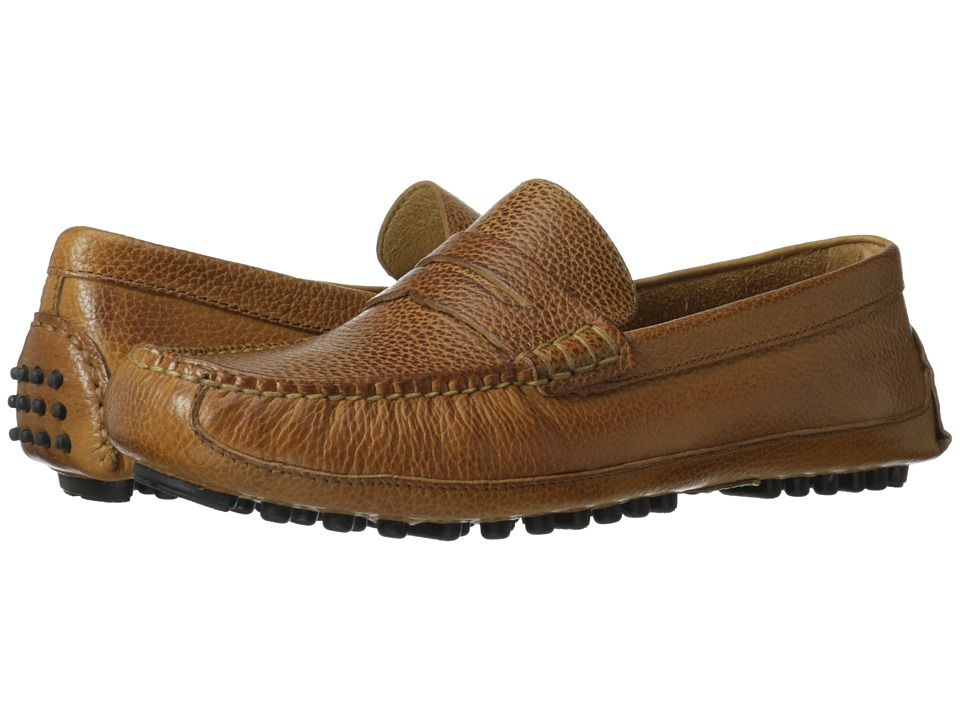 Cole Haan - Grant Canoe Penny (Tan) Men's Slip on Shoes