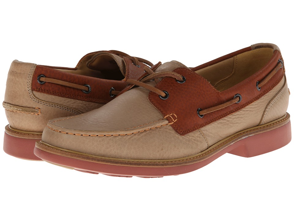 Cole Haan - Great Jones Boat Moc (Milkshake/Camello) Men