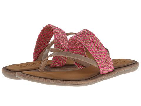 SKECHERS - Indulge (Tan/Pink) Women's Sandals