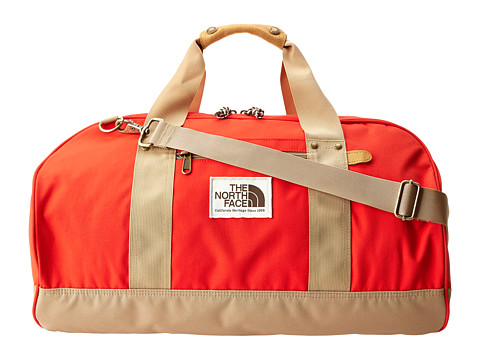 The North Face - Masen Duffel (Fiery Red/Moab Khaki) Duffel Bags