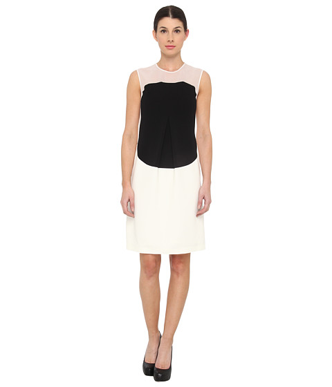 Calvin Klein Collection - Thao Dress (Whisper White) Women's Dress