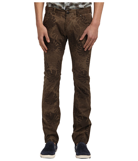 Armani Jeans - Palm Tree Printed Pant (Brown) Men's Casual Pants