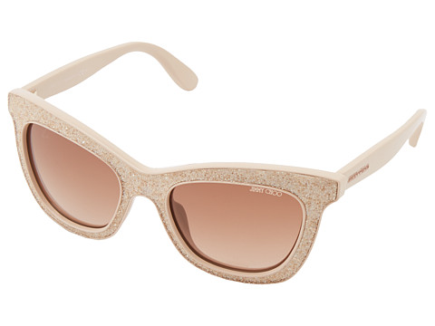 Jimmy Choo - Flash (Nude/Brown Gradient) Fashion Sunglasses