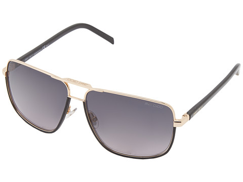 Jimmy Choo - Carry/S (Rose Gold/Grey Gradient) Fashion Sunglasses