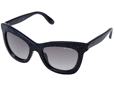Jimmy Choo - Flash (Blue/Grey Gradient) Fashion Sunglasses
