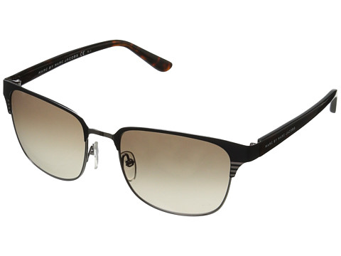 Marc by Marc Jacobs - MMJ 389/S (Ruthenium Blue/Brown Gradient) Fashion Sunglasses