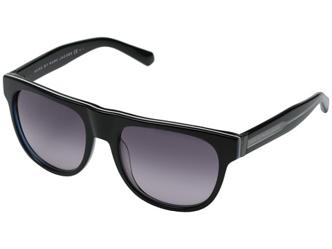 Marc by Marc Jacobs - MMJ 386/S (Black White Grey/Grey Gradient) Fashion Sunglasses