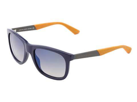 Marc by Marc Jacobs - MMJ 379/S (Dark Blue/Flash Blue) Fashion Sunglasses