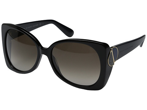 Marc by Marc Jacobs - MMJ 406/S (Black/Brown Gradient) Fashion Sunglasses