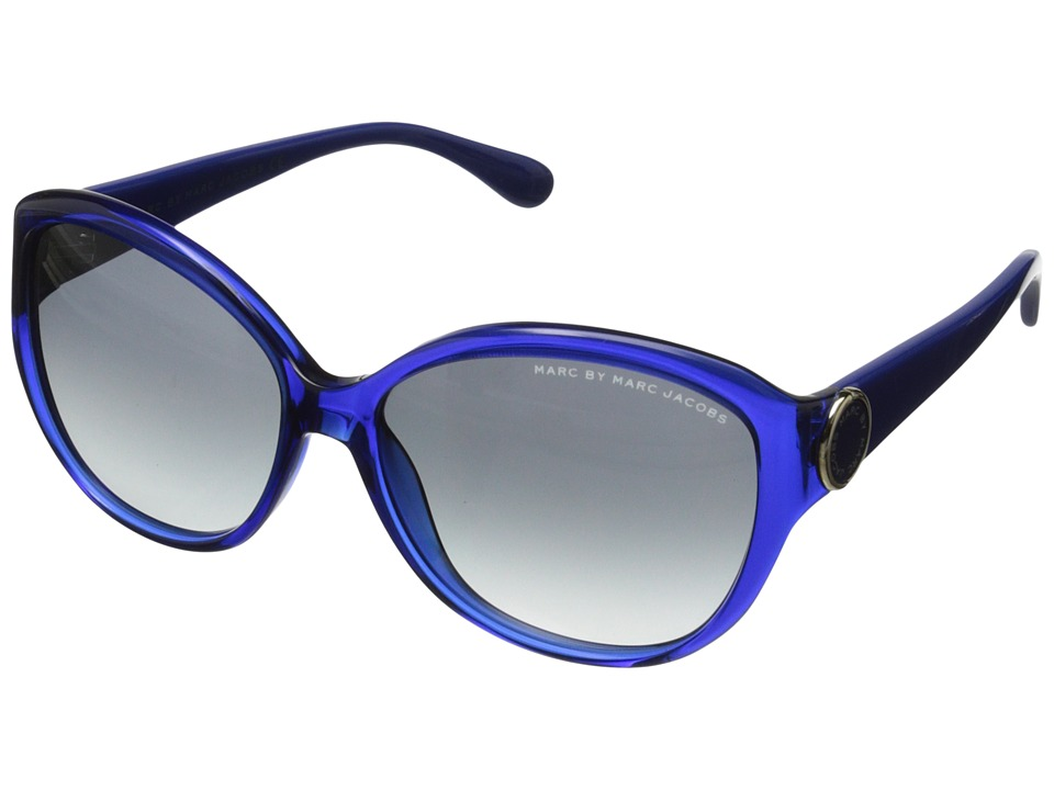 Marc by Marc Jacobs - MMJ 384/S (Blue/Grey Gradient) Plastic Frame Fashion Sunglasses