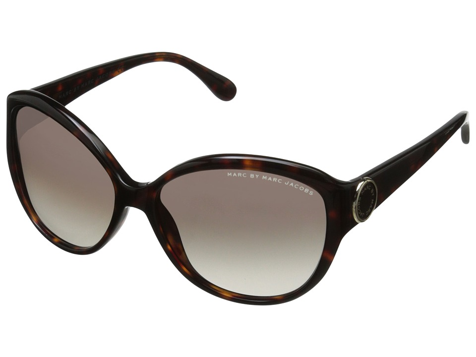 Marc by Marc Jacobs - MMJ 384/S (Havana/Brown Gradient) Plastic Frame Fashion Sunglasses