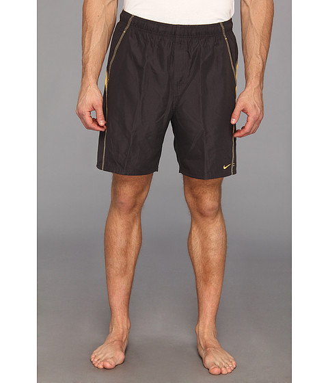 Nike - Extended Core Velocity Volley Short (Anthracite) Men's Swimwear
