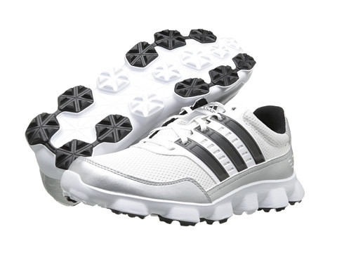 adidas Golf - Crossflex Sport (Running White/Black/Metallic Silver) Men