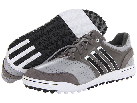 adidas Golf - adicross III (Mid Grey/Running White/Dark Cinder) Men's Golf Shoes