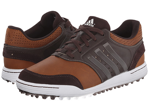 adidas Golf - adicross III (Tan Brown/Scout Metallic/Tour White) Men's Golf Shoes