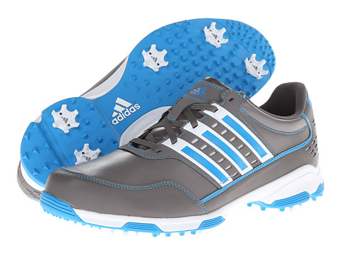 adidas Golf - Golflite Traxion (Iron/Running White/Solar Blue) Men