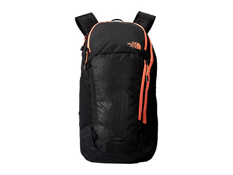 The North Face - Pinyon (TNF Black/Electro Coral Orange) Bags