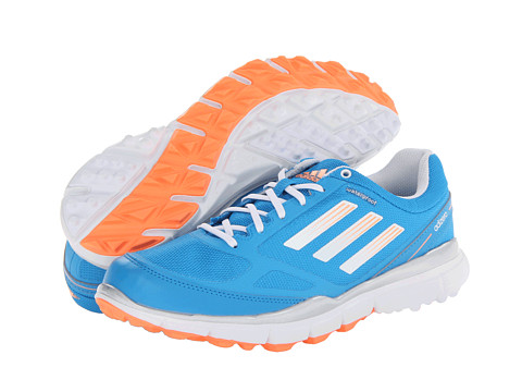 adidas Golf - adiZERO Sport II (Solar Blue/Running White/Glow Orange) Women