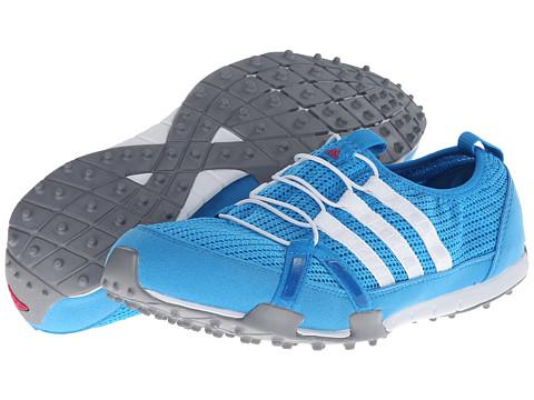 adidas Golf - Climacool Ballerina (Solar Blue/Running White/Metallic Silver) Women's Golf Shoes