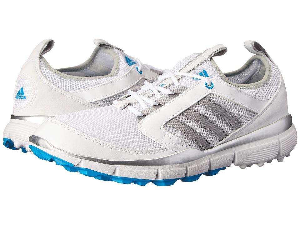adidas Golf - adiStar Climacool (Running White/Metallic Silver/Solar Blue) Women
