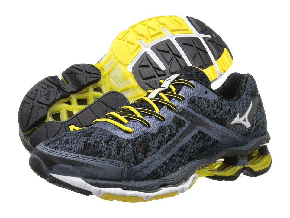 Mizuno - Wave Creation 15 (Dark Slate/Silver/Black) Men's Running Shoes