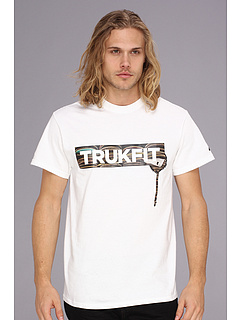 SALE! $16.99 - Save $11 on Trukfit Decks TRUKFIT Drip Core Tee (White) Apparel - 39.32% OFF $28.00