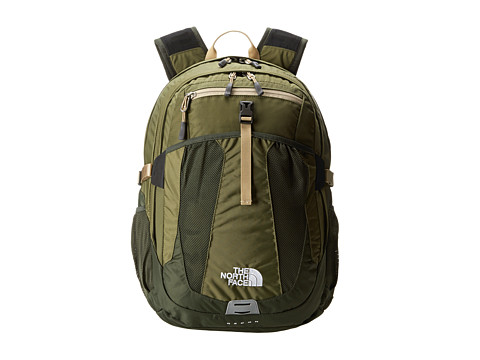 The North Face - Recon (Burnt Olive Green/Military Green 1) Backpack Bags
