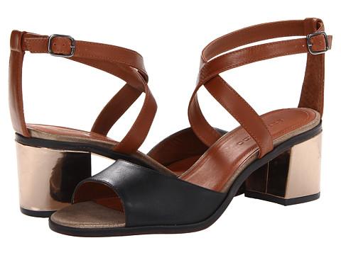 Bernardo - Bamboo (Pewter/Luggage/Black Calf) Women's Sandals