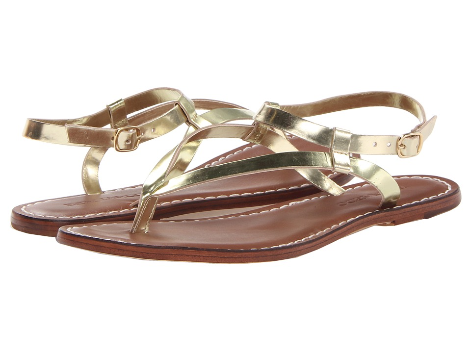 Bernardo - Merit (Light Gold Speccio) Women's Sandals