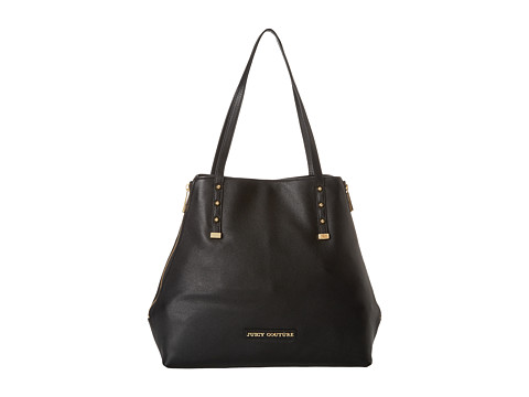Juicy Couture - Orange Grove Winged Large Tote (Black) Tote Handbags