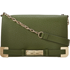 SALE! $66 - Save $84 on Ivanka Trump Saffiano Onyx Shoulder Bag (Olive) Bags and Luggage - 56.00% OFF $150.00