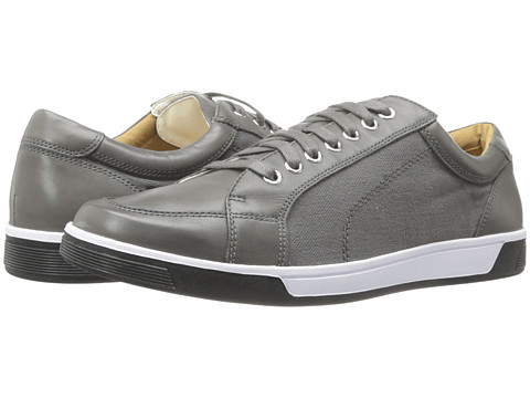 Cole Haan - Vartan Sport Ox (Dark Gull Grey/Ironstone Canvas) Men's Lace up casual Shoes