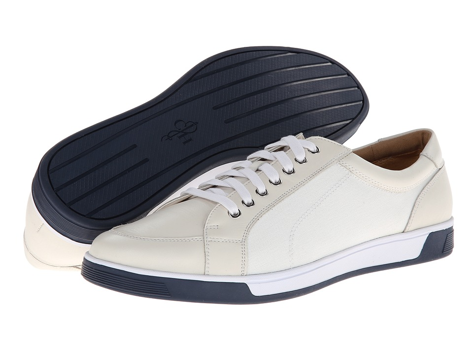 Cole Haan Vartan Sport Ox (White/White Canvas) Men