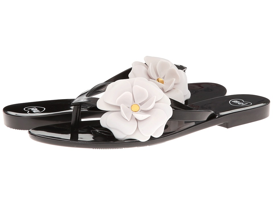 Mel by Melissa - Mel Honey III (Black/White) Women's Sandals