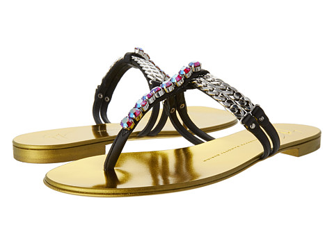 Giuseppe Zanotti - E40136 (Nero) Women's Sandals