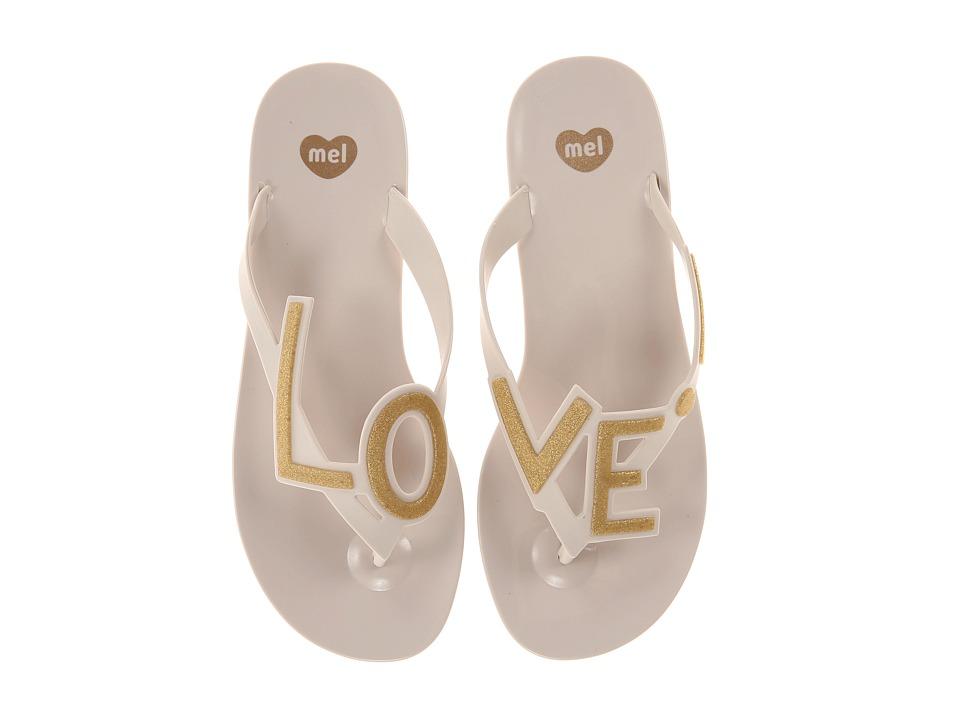 Mel by Melissa - Mel Love City (Beige) Women's Sandals