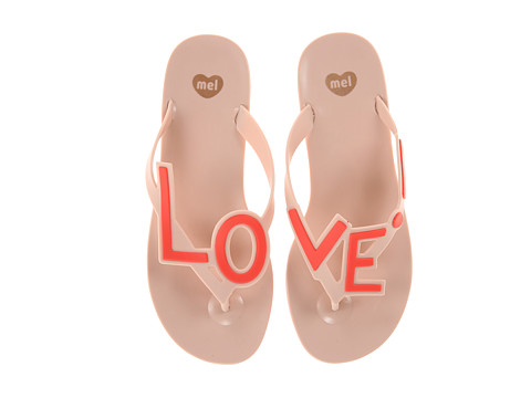 Mel by Melissa - Mel Love City (Pink) Women's Sandals