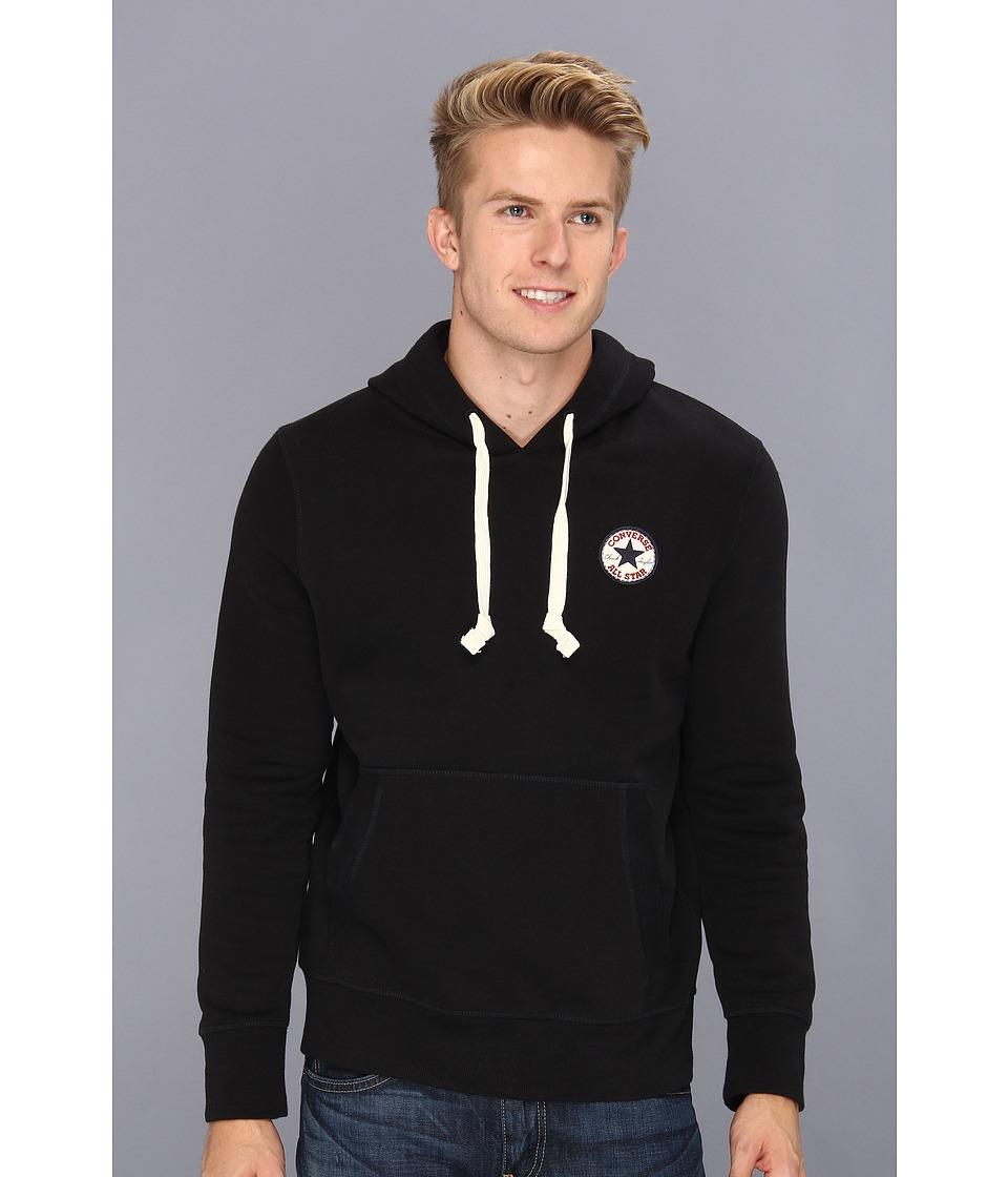 pretty nice 6dc56 4fbe8 Converse Core Chuck Patch Fleece Pullover Hoodie Mens Sweatshirt (Black) on  PopScreen