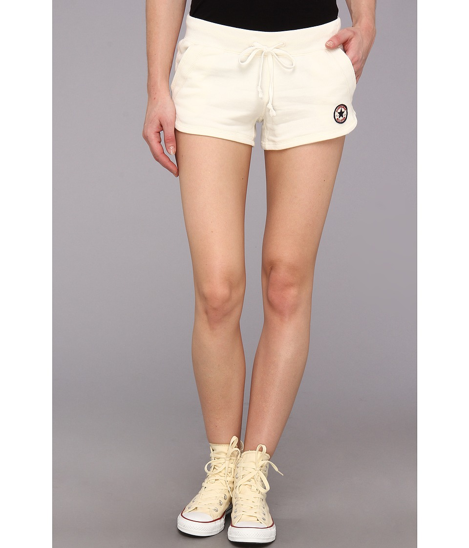 Converse - Core French Terry Short (Egret) Women's Shorts
