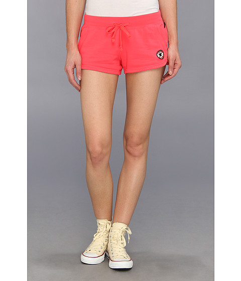 Converse - Core French Terry Short (Electric Pink) Women's Shorts